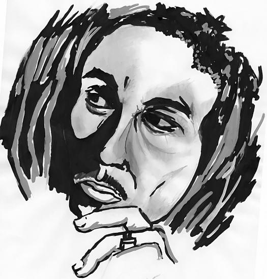 Bob Marley por Jakarta